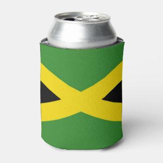 Porta-lata Pode o refrigerador com a bandeira de Jamaica