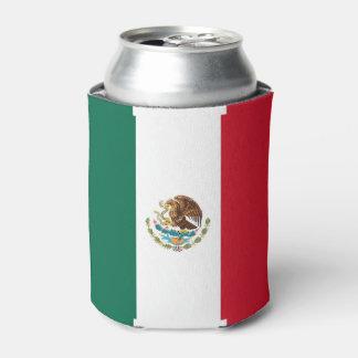 Porta-lata Pode o refrigerador com a bandeira de México