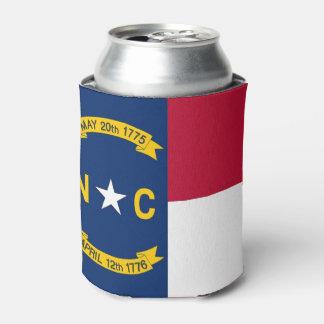 Porta-lata Pode o refrigerador com a bandeira de North