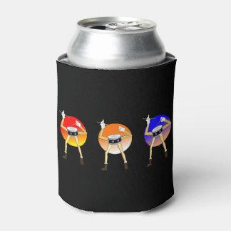 Porta-lata Pode o refrigerador para drummers.