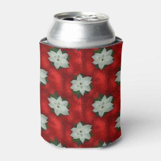 Porta-lata Poinsétia do Natal