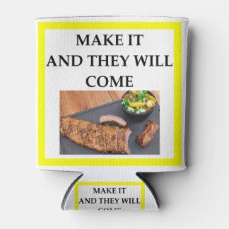 Porta-lata porco assado