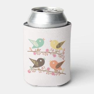 Porta-lata Quatro pássaros