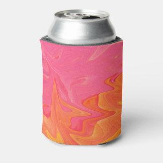 Porta-lata Refrigerador abstrato da lata de soda do ouro