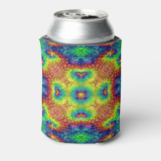 Porta-lata Refrigerador colorido da lata do céu da tintura do