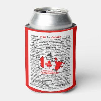 Porta-lata Refrigerador da bebida de Canadá de 150 jogos