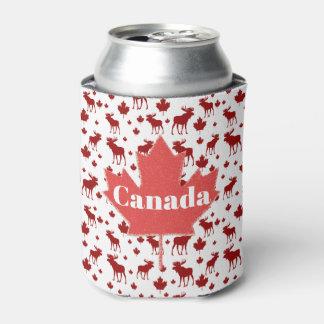Porta-lata Refrigerador da cerveja dos alces e da folha de
