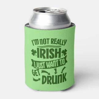 Porta-lata Refrigerador não realmente irlandês engraçado da