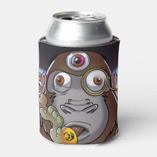Porta-lata Refrigerador psicadélico da lata de cerveja de