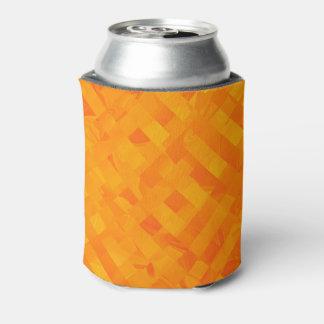 Porta-lata Refrigerador transversal amarelo da lata de soda