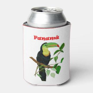 Porta-lata Refrigerador tropical colorido de Toucan da