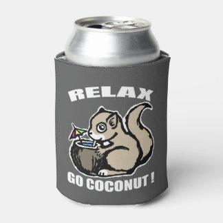 Porta-lata Relaxe! Vai o coco