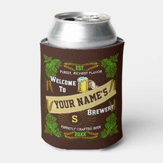 Porta-lata Saltos da cervejaria da cerveja e boa vinda da