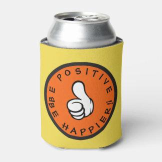 Porta-lata Seja positivo! Esteja mais feliz!