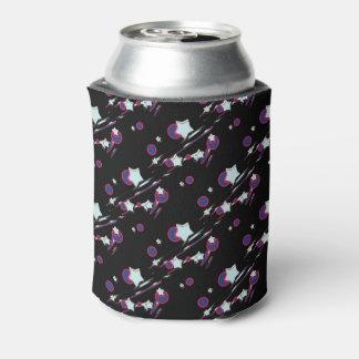 Porta-lata Shooting Stars e luva preta da cerveja dos cometas
