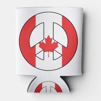 Porta-lata Sinal de paz canadense