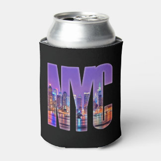 Porta-lata Skyline de NYC (luz)