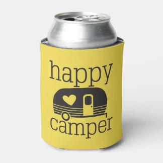 Porta-lata Soda do pop da cerveja do campista feliz acolhedor