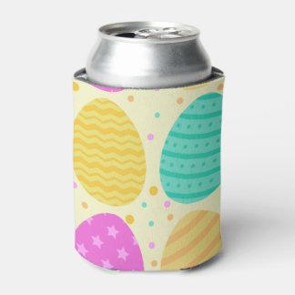 Porta-lata Teste padrão colorido bonito dos ovos da páscoa