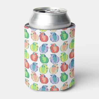 Porta-lata Teste padrão da cobaia do pop art