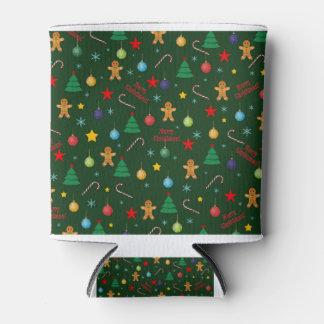 Porta-lata Teste padrão do Natal
