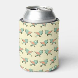 Porta-lata Teste padrão dos pássaros