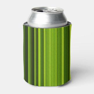 Porta-lata Textura da folha da palmeira