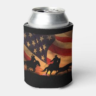 Porta-lata Todo o rodeio Roping da equipe americana pode