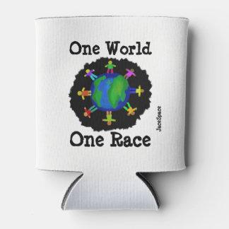 Porta-lata Um mundo, uma raça