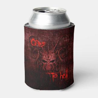 Porta-lata Vai ao inferno