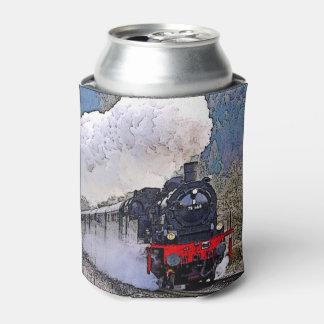Porta-lata Vapor da locomotiva 2. na neve