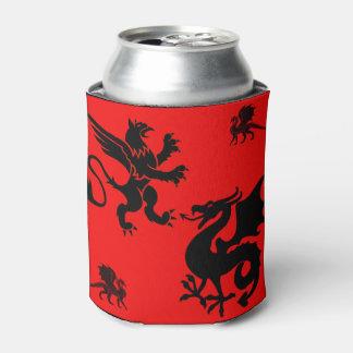 Porta-lata ver preto 2 do dragão