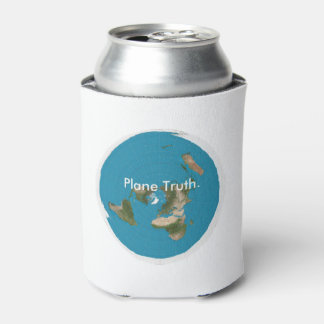 Porta-lata Verdade plana. A bebida de | pode refrigerador!