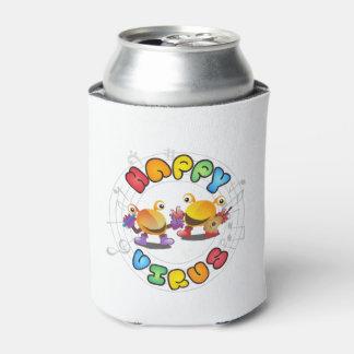 Porta-lata Vírus feliz - pode o refrigerador