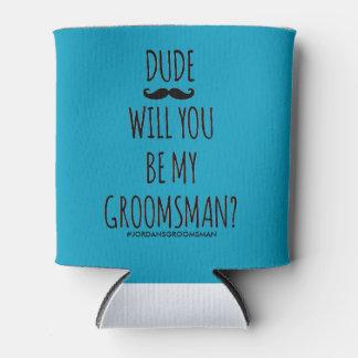 Porta-lata você será meu padrinho de casamento pode