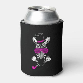Porta-lata Zebra do hipster