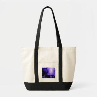 Portador dos desejos - veado branco bolsa tote