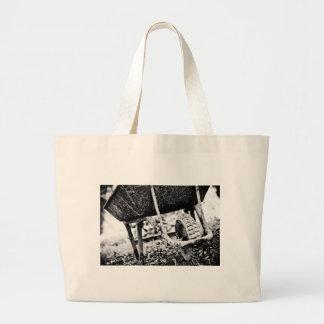 portador revestido bolsas de lona