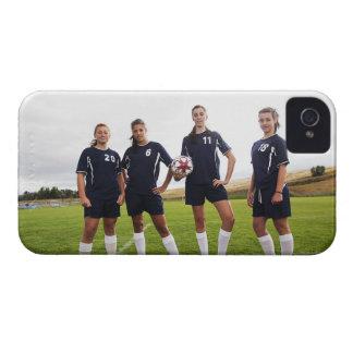 portait do grupo de jogadores de futebol capinha iPhone 4