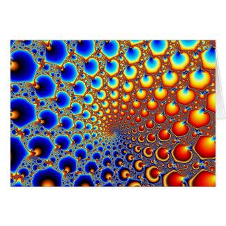 Portal hipnótico - cartão do Fractal