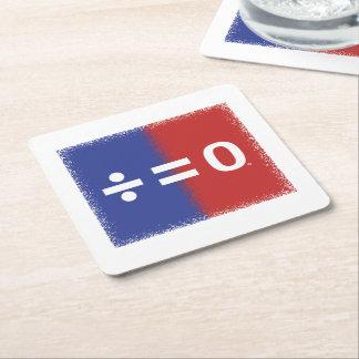 Portas copos americanas do quadrado da unidade porta-copo de papel quadrado