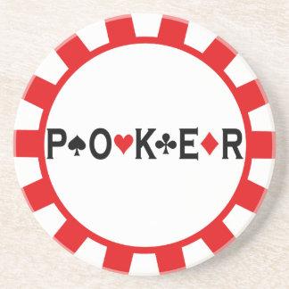 Portas copos da microplaqueta de póquer porta copo