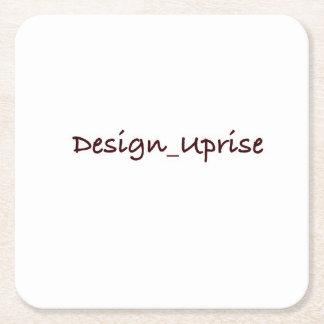 Portas copos de Design_Uprise Porta-copo De Papel Quadrado