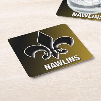 Portas copos de Nawlins Porta-copo De Papel Quadrado