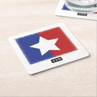 Portas copos do quadrado da estrela da unidade porta-copo de papel quadrado