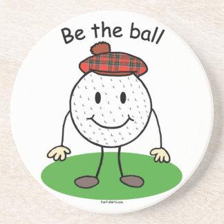 Portas copos engraçadas do golfe porta-copo