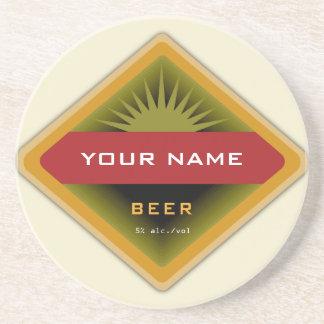 Portas copos personalizadas da cerveja porta-copos