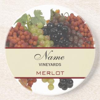 Portas copos personalizadas do vinho porta copo
