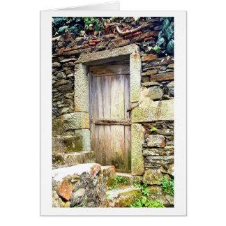 Portas do cartão de nota de Cinque Terre