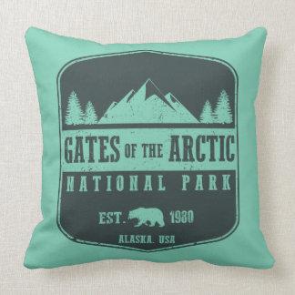 Portas do parque nacional ártico almofada